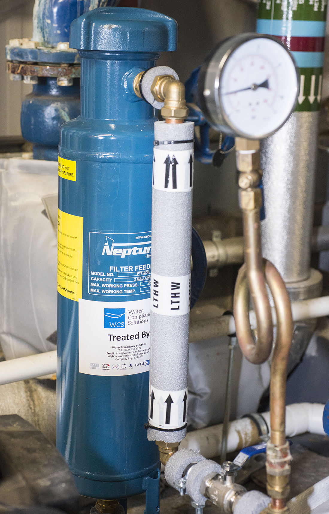Closed Water System Treatment | Water Compliance Solutions