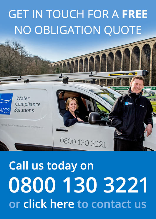 Get a FREE no obligation quote from Water Compliance Solutions